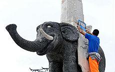 L'elefante di piazza del Duomo simbolo di Catania