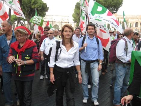 """il capogruppo PD di Osimo, prof.ssa Paola Andreoni, a Roma per la """"Migliore Italia"""""""