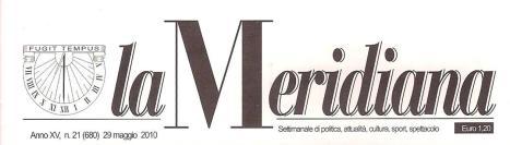 giornale La Meridiana 1