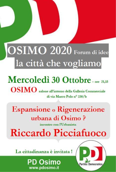 Rigenerazione urbana Riccardo Picciafuoco_ 30 ottobre
