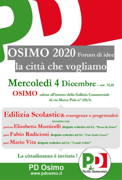 Edilizia Scolastica 4 dicembre 2013