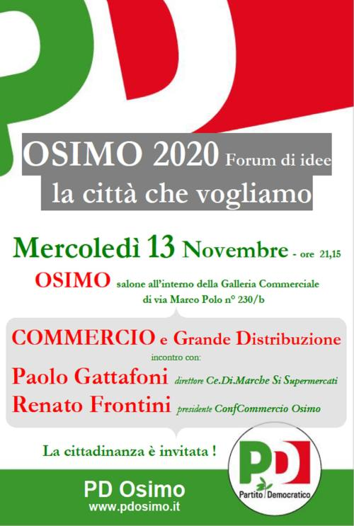 PD Osimo 2020 Commercio 13novembre2013