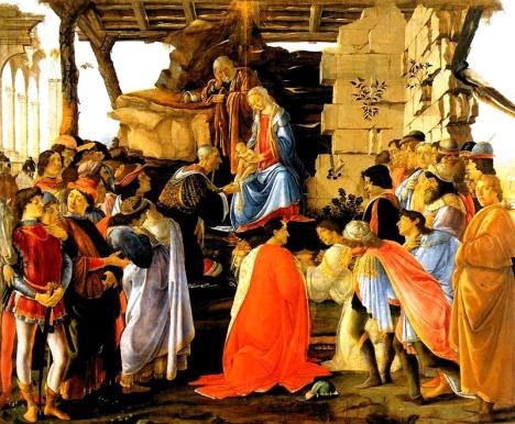 Botticelli - Adorazione dei Magi