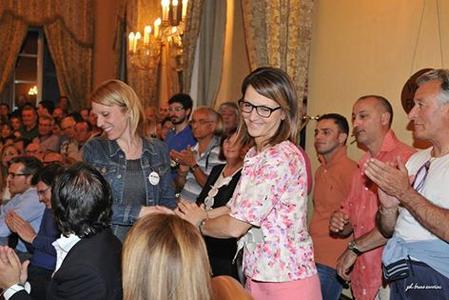 Paola Andreoni e Sara Andreoli