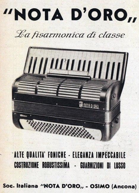 1950  ditta Nota d'oro
