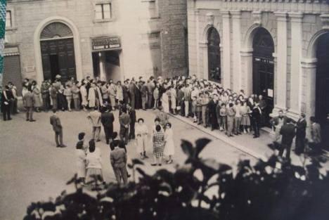 26 aprile 1959 coda per il film i 10 comandamenti Francesco Bambozzi