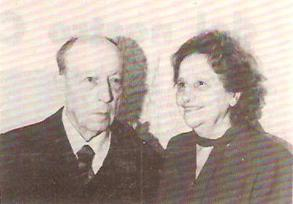 gennaio 1976. Carlo Ambrogetti festeggia il 50° di matrimonio con la consorte Bianca ed i figli: Vittorio, Maria Letizia e Giulio