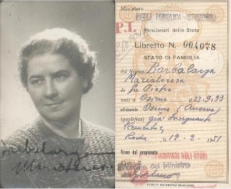 Barbalarga Maria Teresa 1951