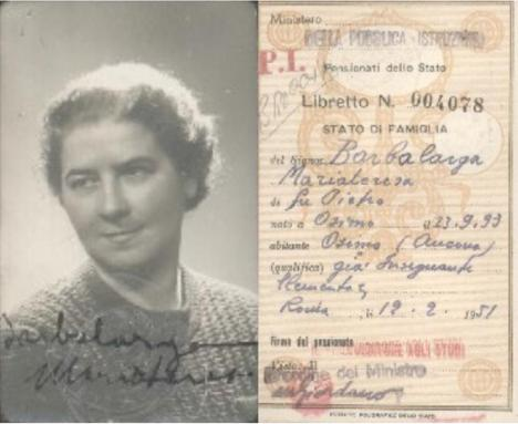 Barbalarga Maria Teresa 1951