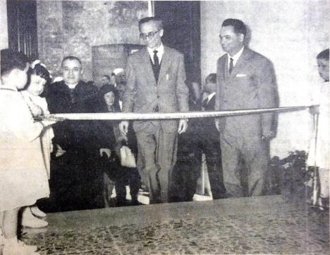 il sindaco A. Niccoli inaugura gli uffici Eca
