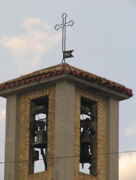 1961 campanile chiesa San Paterniano