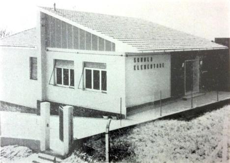 Nuovo Edificio scolastico per le elementari realizzato, in località Villa San Paterniano, nel 1962