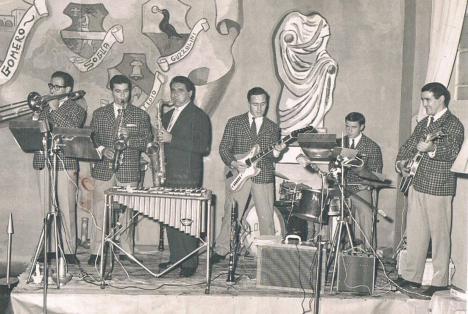 Il Circolo Gomero organizzava eventi musicali, mostre ( foto di P.Buglioni )