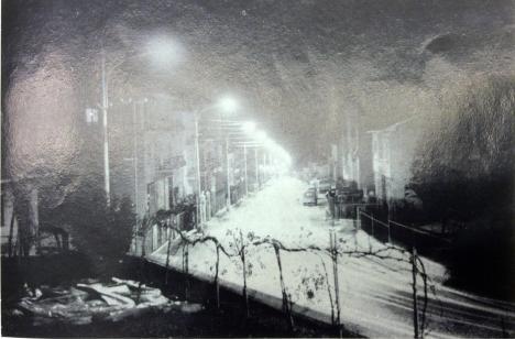 La nuova via Guazzatore illuminata come non lo è oggi