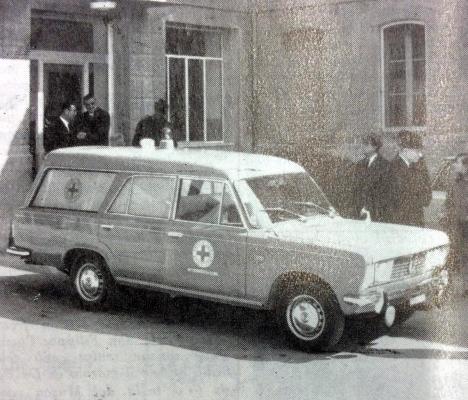 1968 nuova ambulanza della CRI