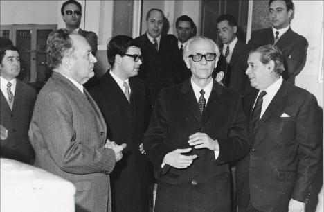 1971 Niccoli accolto in città come Senatore