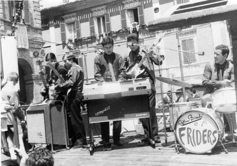 Franco Andreucci, Sergio Santarelli,Peppino Bianchi,Sandro Mosca,Ennio Dionisi: I Friders