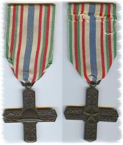 medaglia dei Cavalieri di Vittorio Veneto
