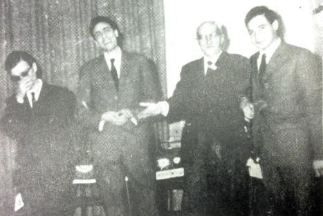 i rappresentanti  delle 4 squadre