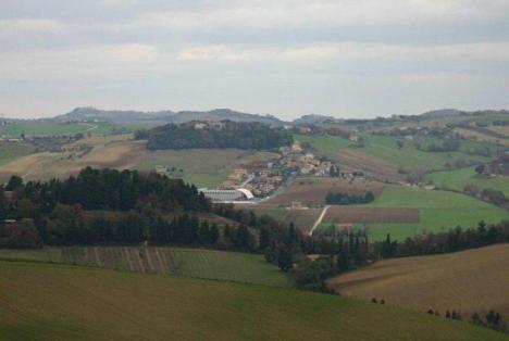 Villa San Paterniano territorio