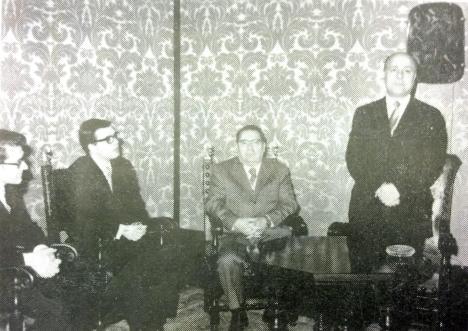 1970 Serrini Presidente della Regione in Comune