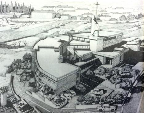 1971 nuova chiesa alla Misericordia