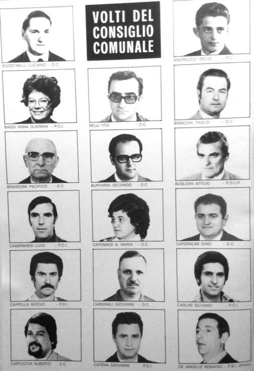 Consiglio comunale 1970 - 1975 1 parte