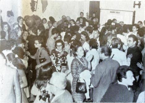 Coppa Pianisti 1970 i genitori in attesa