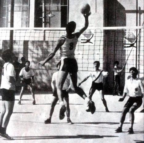 pallavolo giochi della gioventù 1971