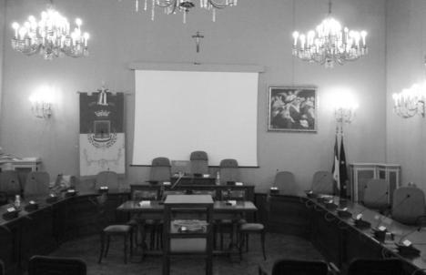 Sala Gialla Consiglio