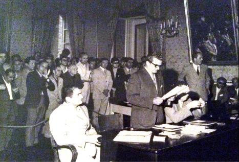 1970 primo Consiglio Comunale
