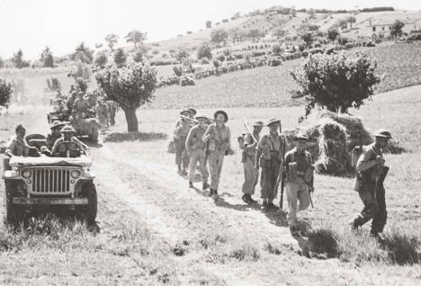 10 luglio fanteria polacca nelle campagne osimane