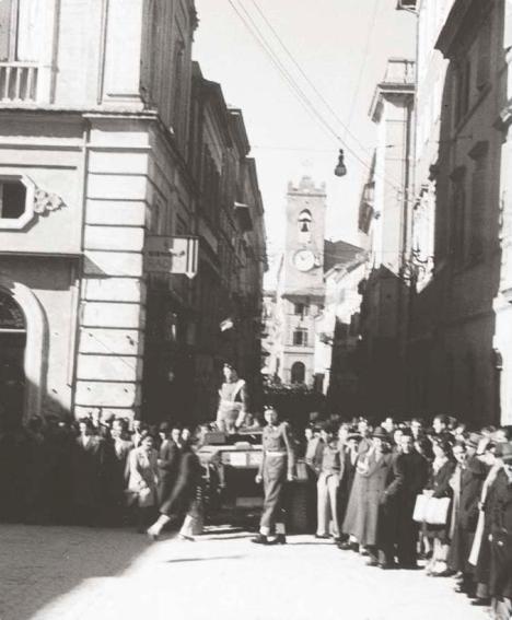 Truppe Polacche in Osimo