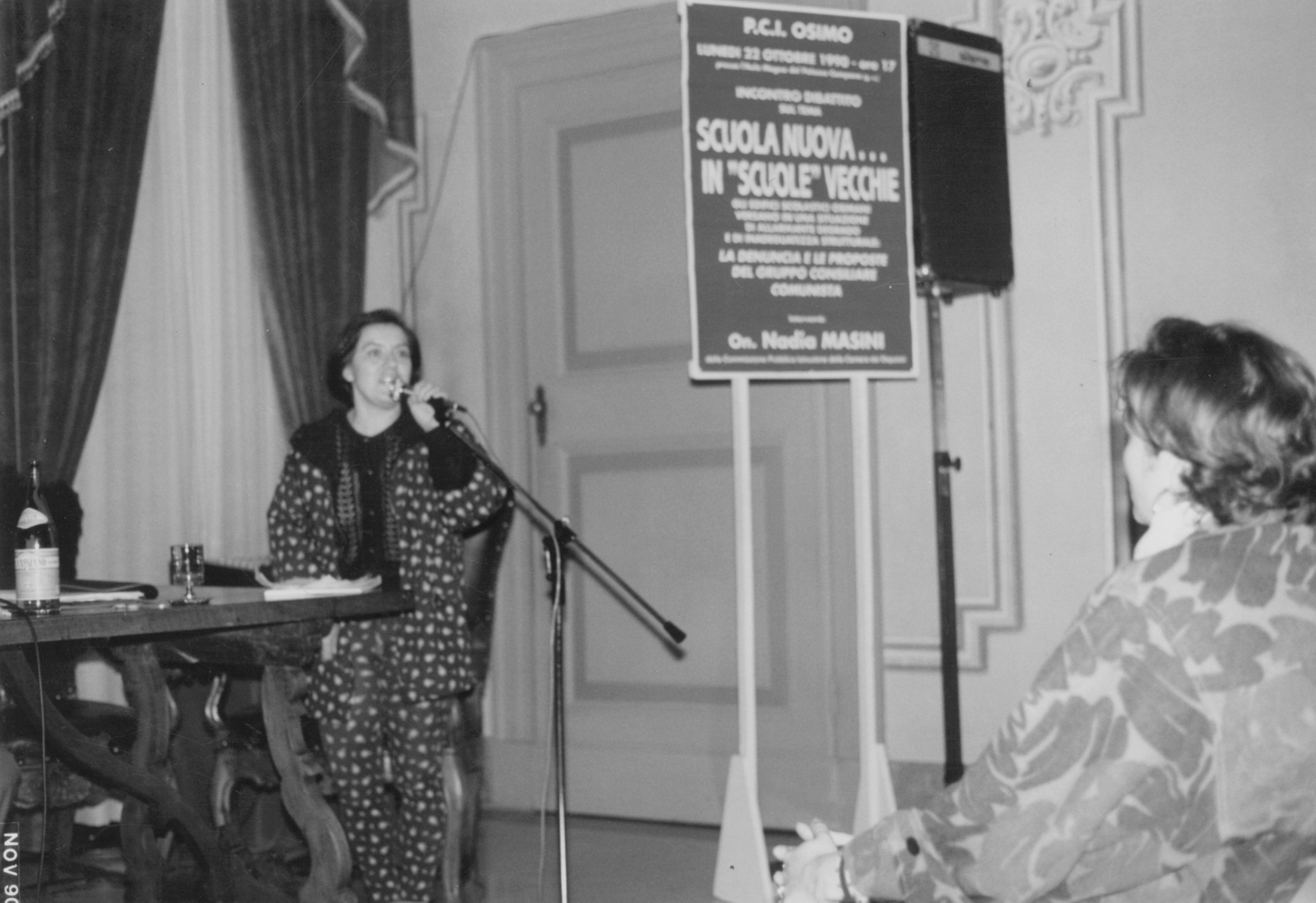 Elisabetta PASQUALINI consigliera comunale e sindacalista, ma un'unica passione: la difesa degli ultimi dei più indifesi.